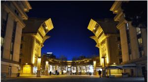 El barrio de Antigona en Montpellier