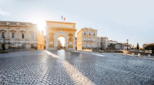 Arco del triunfo de Montpellier