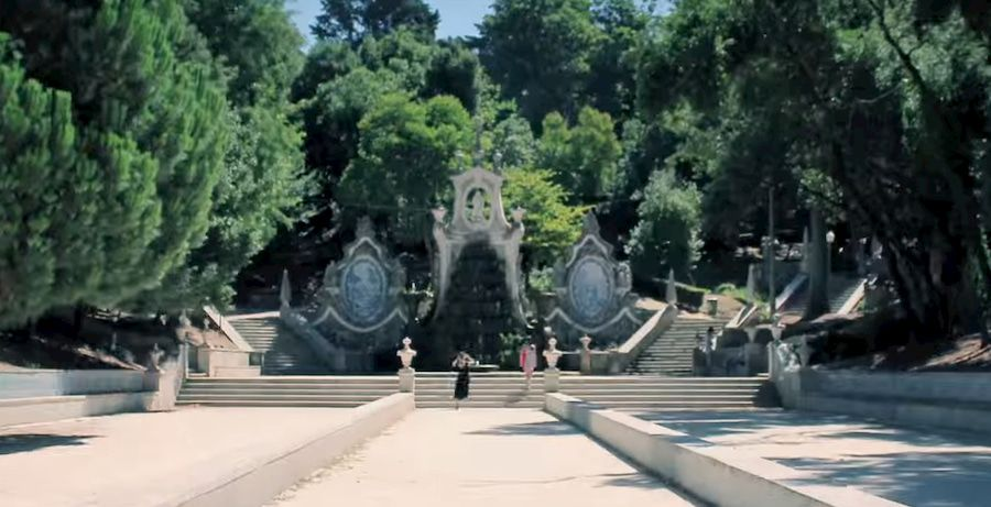 Parque de Santa Cruz en Coimbra