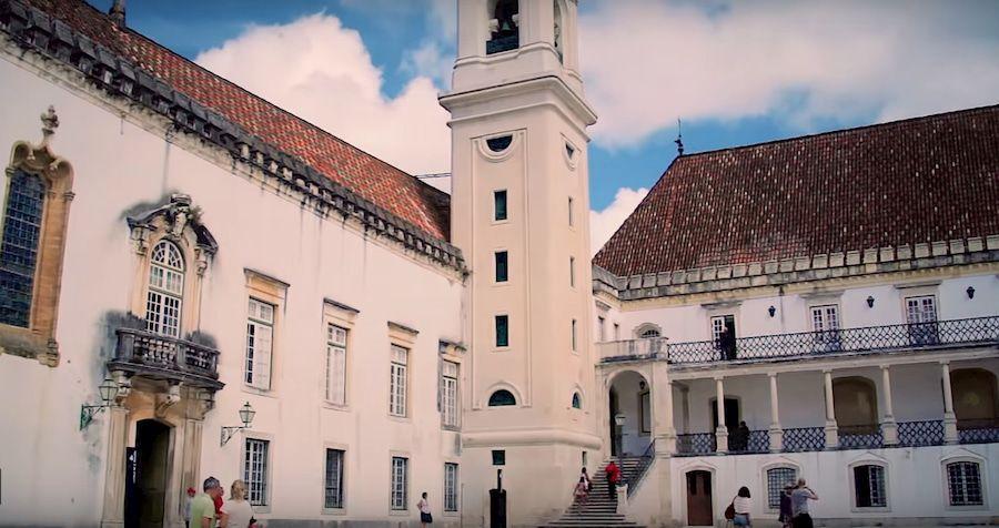 La universidad de Coimbra. La primera de Portugal