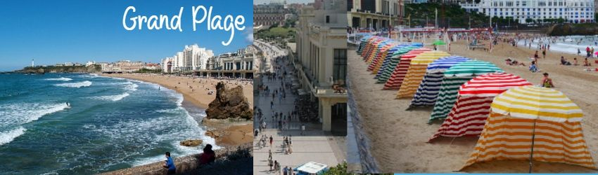 grand plage Playa de la emperadora biarritz