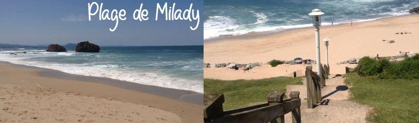 plage de milady biarritz
