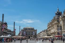 Plaza de la Comedia Montpellier
