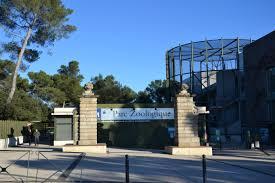 Entrada del zoo de Montpellier