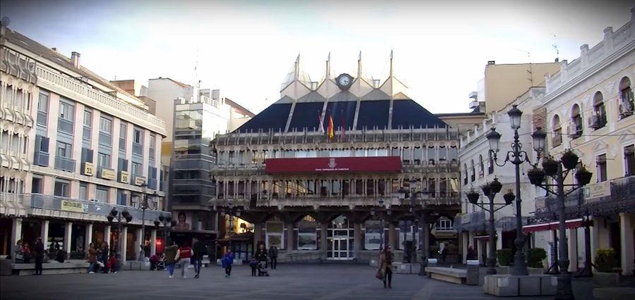 Plaza Mayor de Ciudad Real con el Ayuntamiento