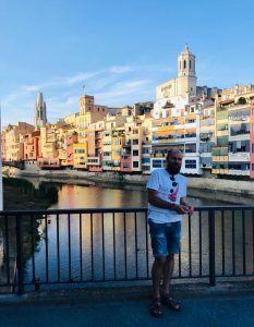 Casas colgantes de Girona