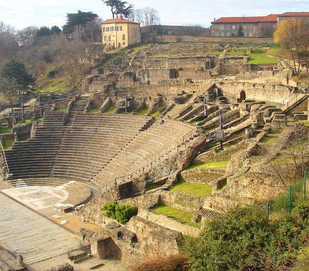 El teatro romano de Lyon