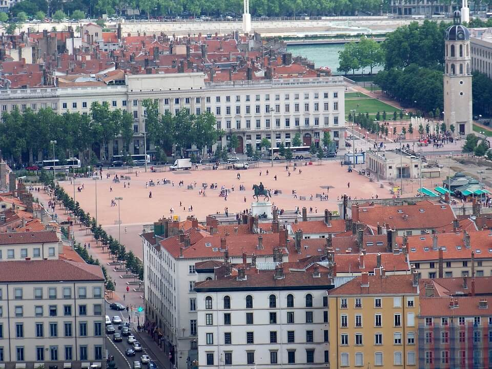 Plaza de Bellecour