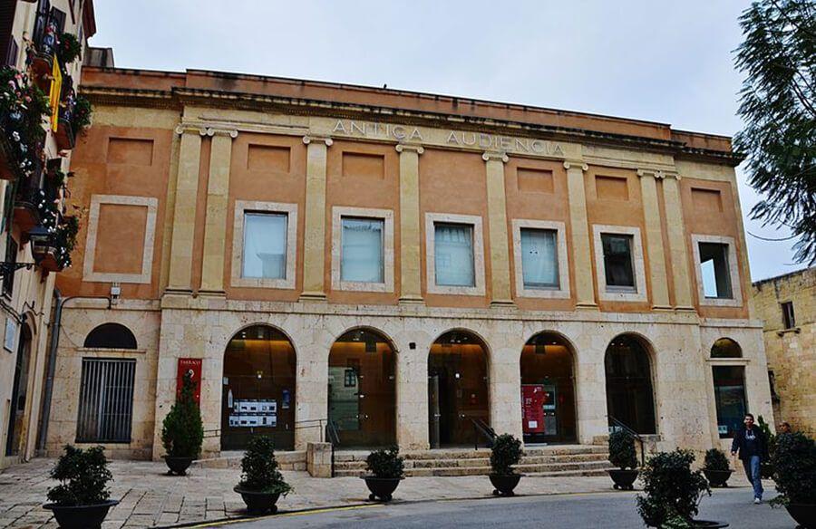 antigua audiencia de Tarragona