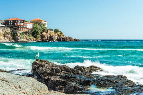 Bulgaria costa del Mar Negro Sozopol