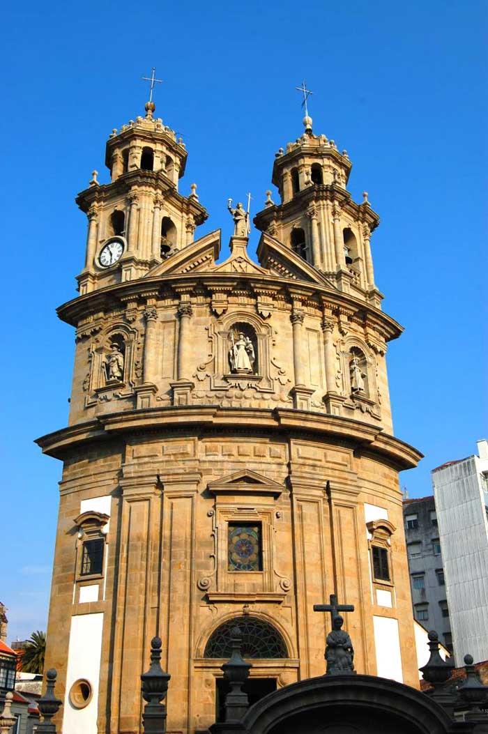 Capilla de La Peregrina en Pontevedra