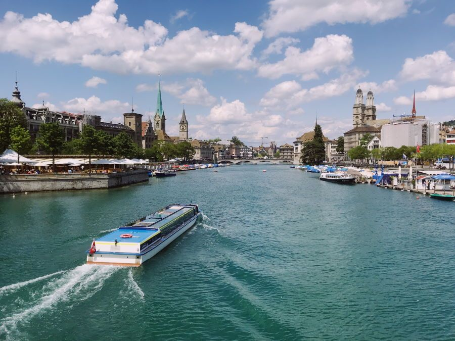 Üetliberg crucero zurich lago navegable actividad mejores vistas