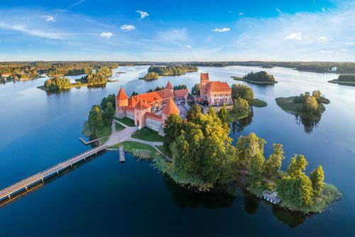 Lituania castillo de Trakai