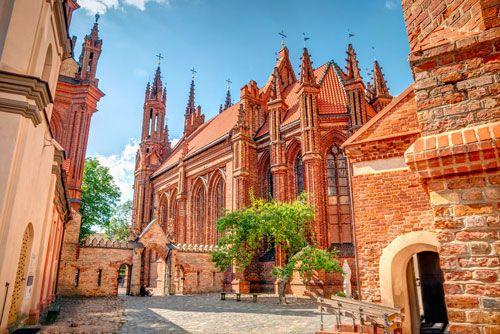 que ver en Vilna, la capital lituana