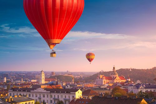 La capital de Lituania Vilnus