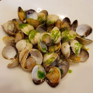 plato del restaurante arros i peix de girona