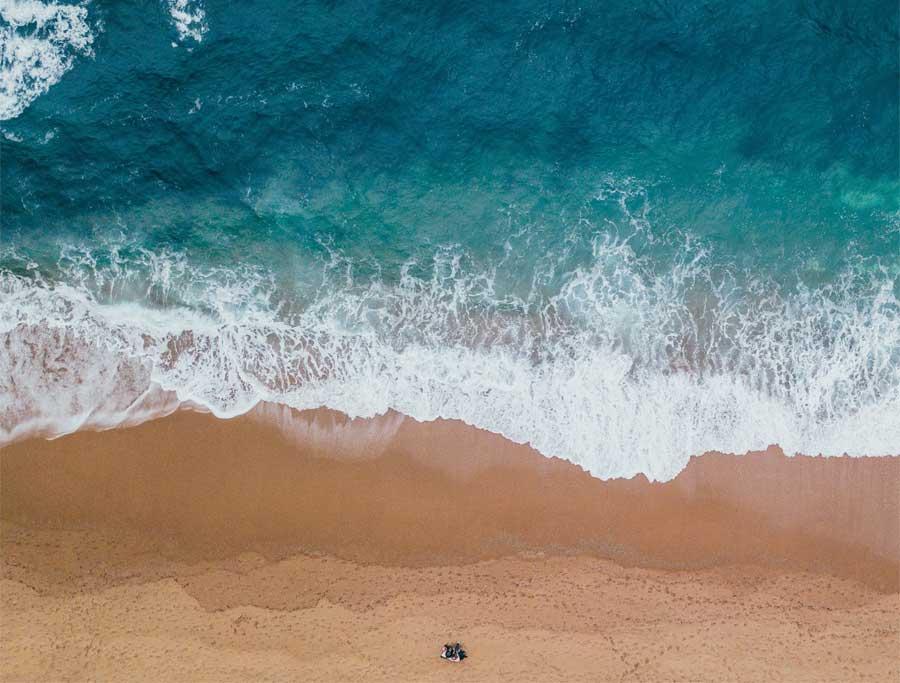 Playa en Pontevedra