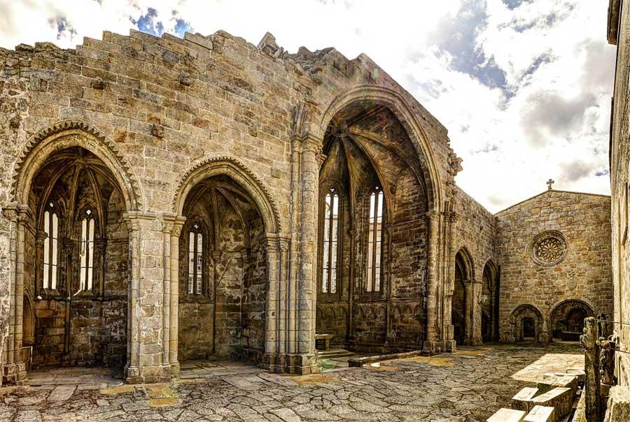 Ruinas del convento de Santo Domingo de Pontevedra