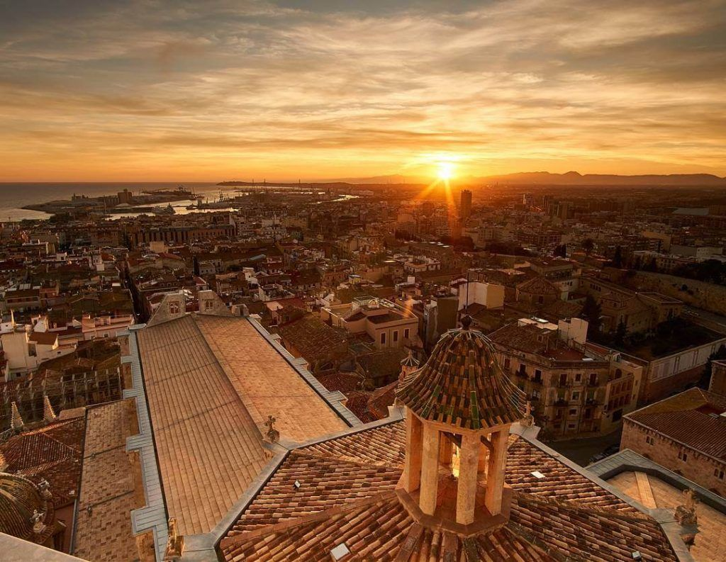 Tarragona vista desde la catedral