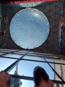 teatre museu dali cúpula