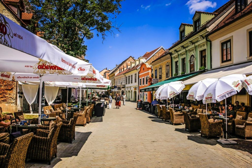 Visitar la calle Tkalcica