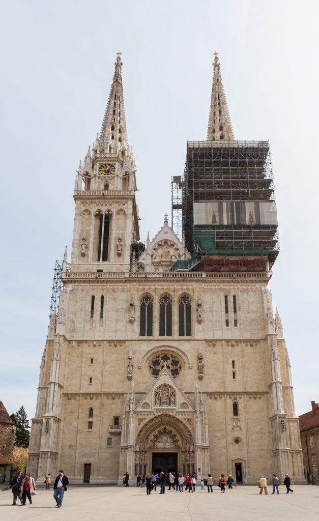 visitar la catedral de Zagreb