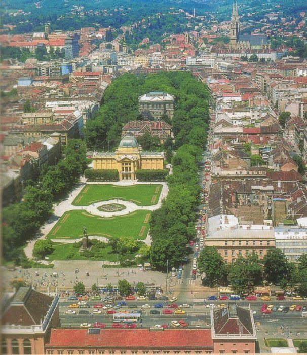 visistar la Herradura verde de Zagreb