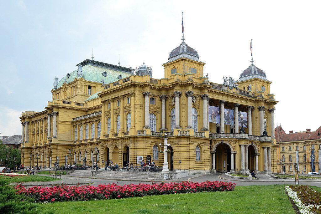 ver el teatro nacional de Croacia