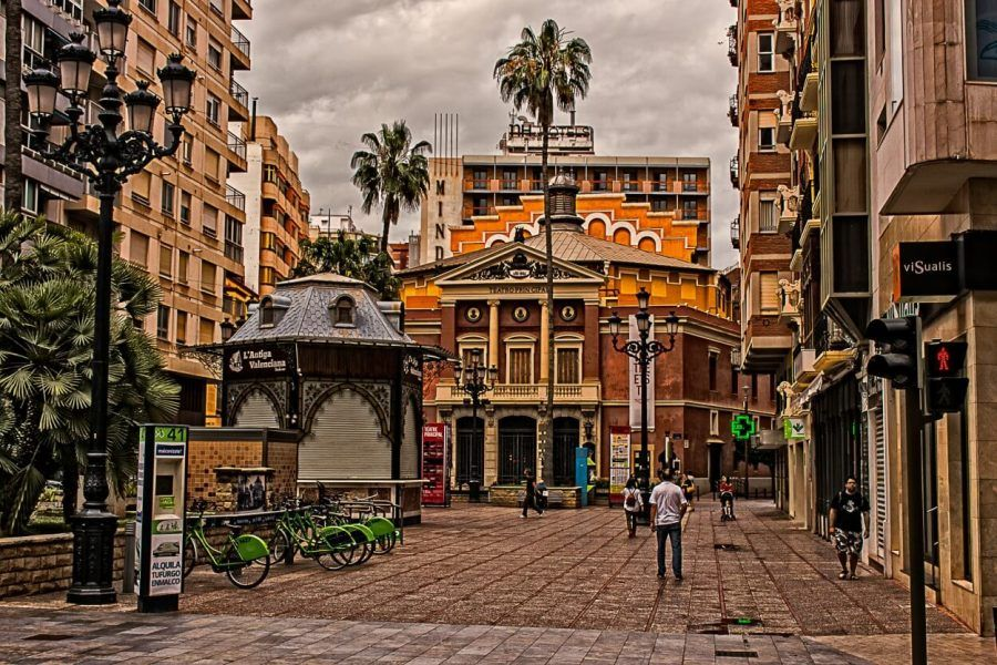 Plaza la Paz de Castellón