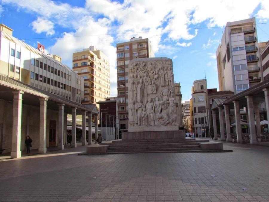Plaza Santa Clara de Castellón