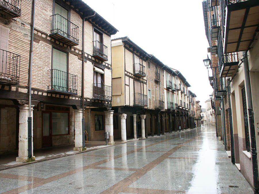 Calle Mayor de Burgo de Osma