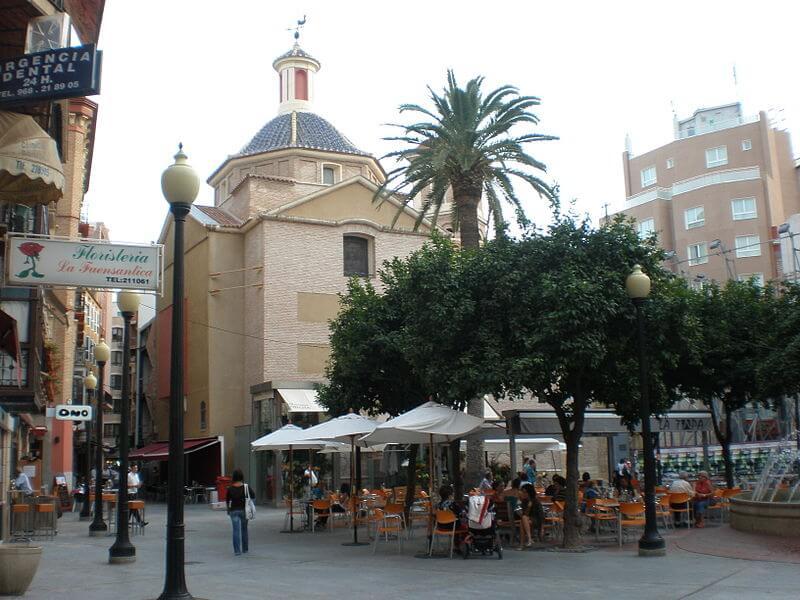 La Plaza de las Flores