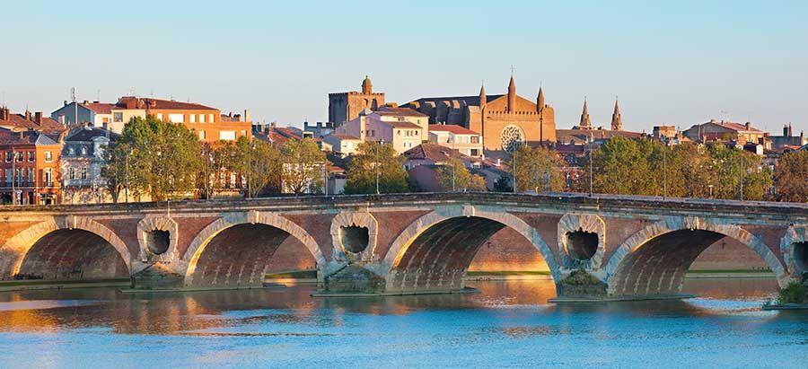 Río Garona en Toulouse